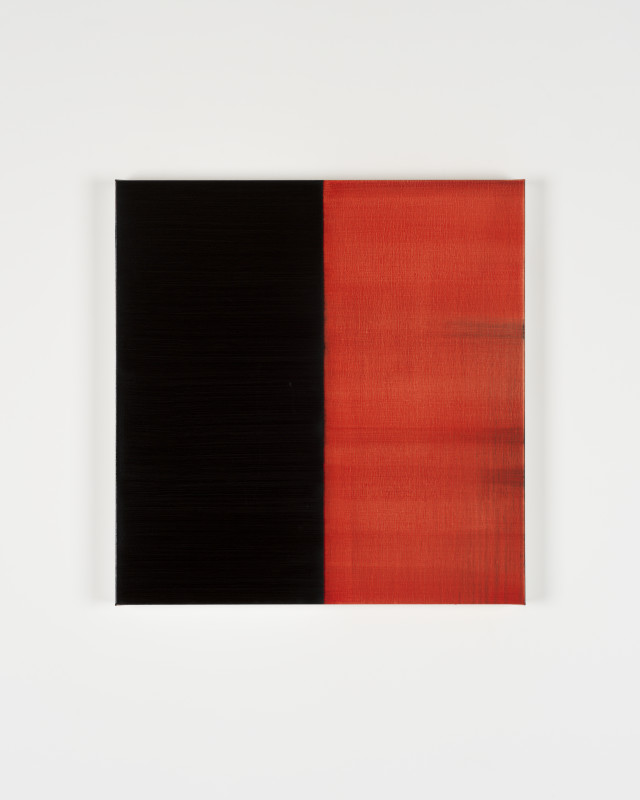 CALLUM INNES, Untitled Lamp Black No 1, 2019