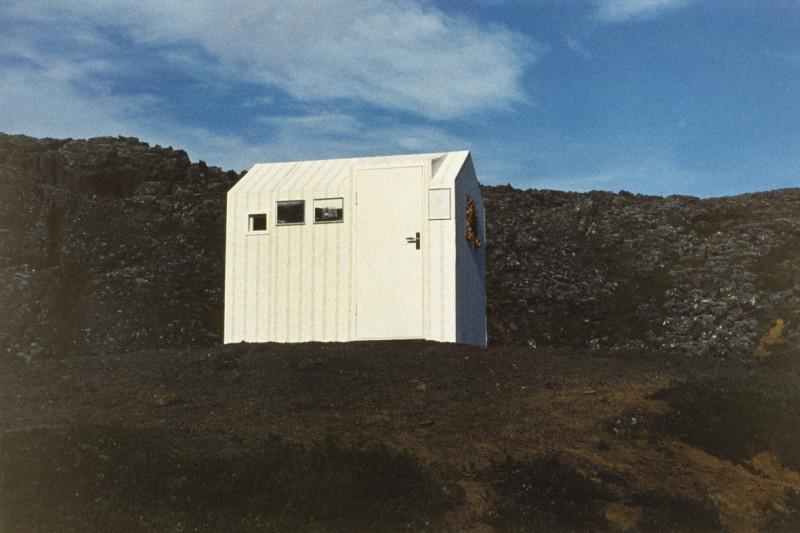 HREINN FRIÐFINNSSON, House Project, First House, 1974