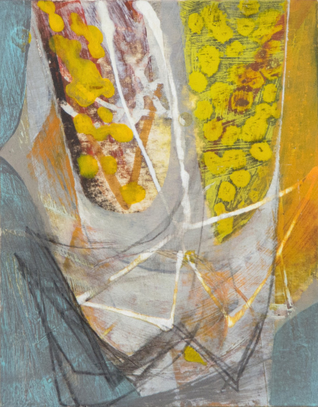 Peter Joyce, Yellow Forms, 2018