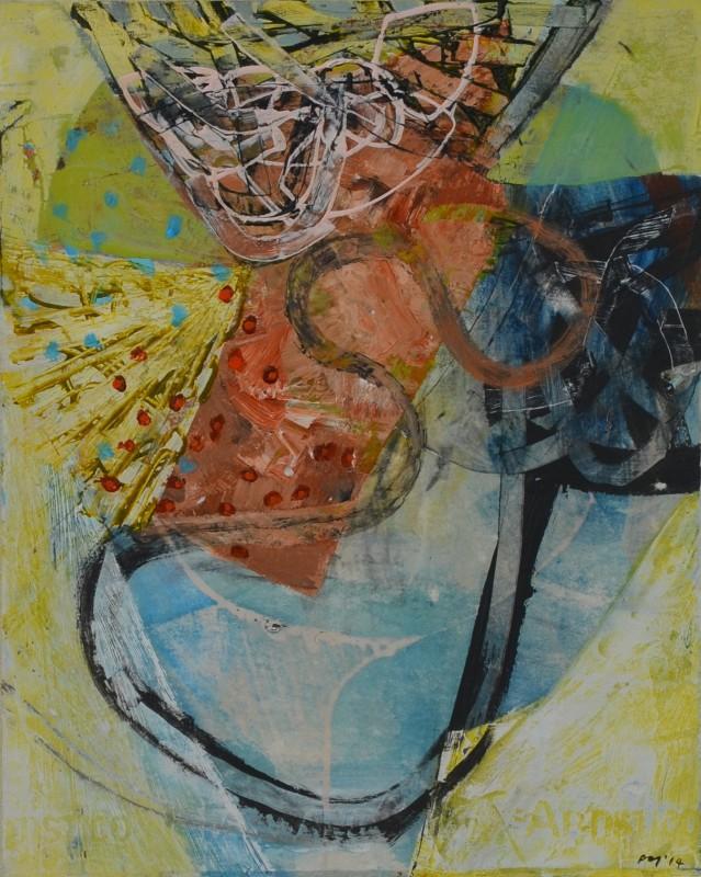 Peter Joyce, Rosehip Evening, 2014