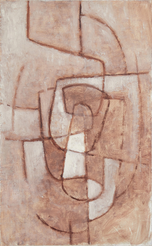 Wendy Pasmore, Abstract in Browns, c 1960