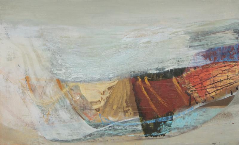 Peter Joyce, Tide route, 2019