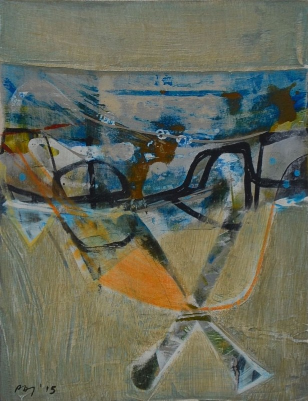 Peter Joyce, Remnants of a Bridge, 2015