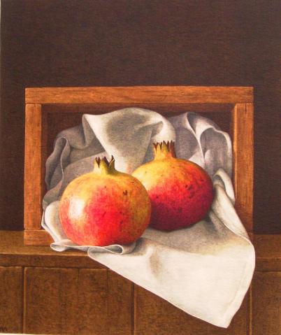 Nigel Ashcroft, Pomegranate Box (unframed)