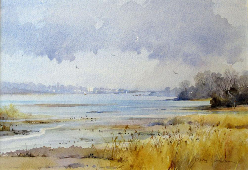 David Howell PPRSMA, The Teign Estuary