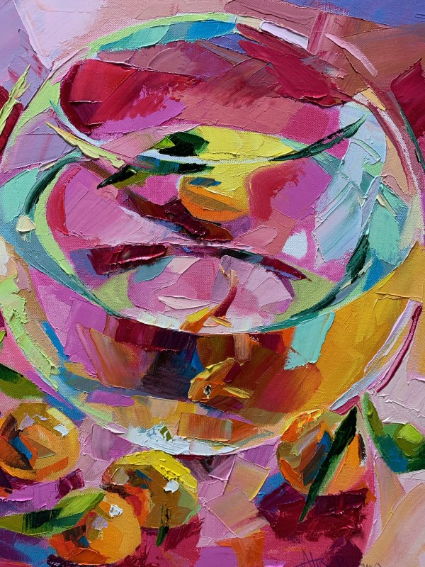 Alex Brown, Goldfish bowl and plums