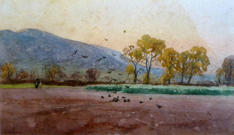 A P Collis, Spring Evening, Malvern