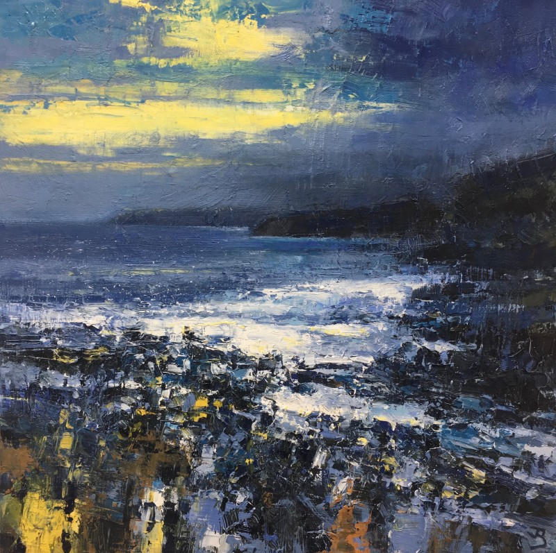 John Brenton, Cornish Foreshore at twilight
