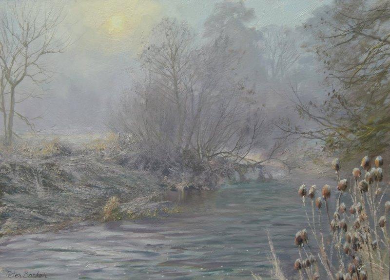 Peter Barker RSMA, Clearing Fog