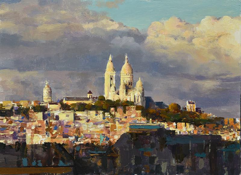 Alan Thompson, Paris Sacre Coeur