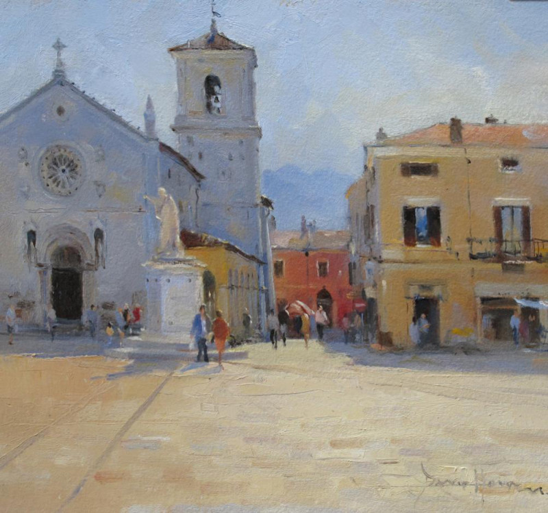 David Howell PPRSMA, Piazza San Benedetto