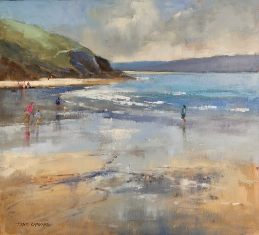 Jane Lampard, Autumn afternoon, Daymer Bay, Cornwall