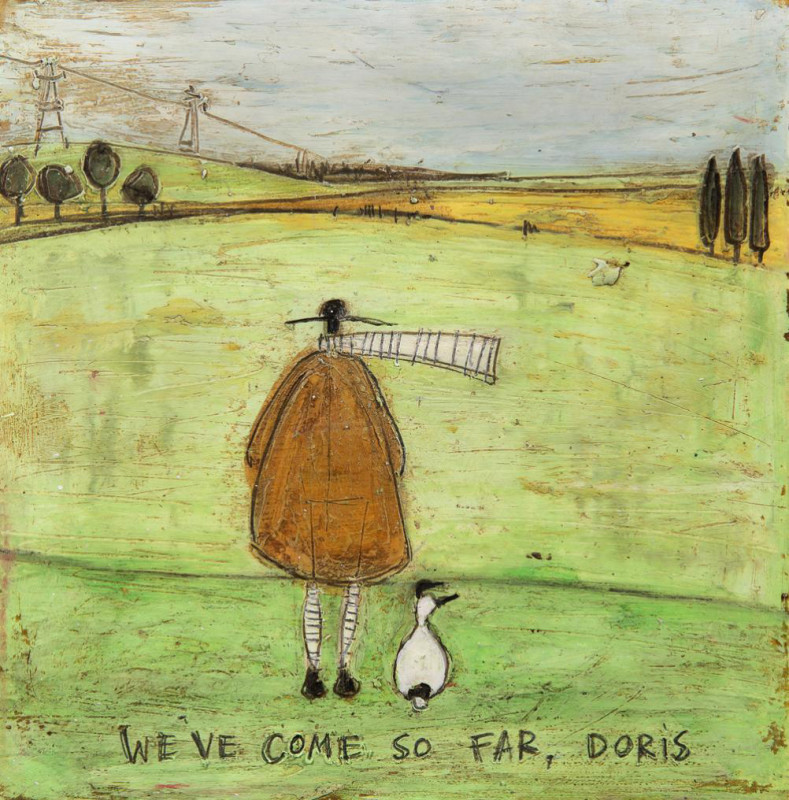 Sam Toft, We've come so far Doris
