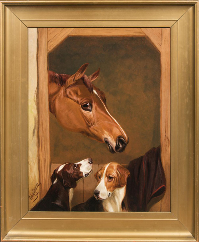 Colin Graeme (Roe), Foxhounds at the Stable