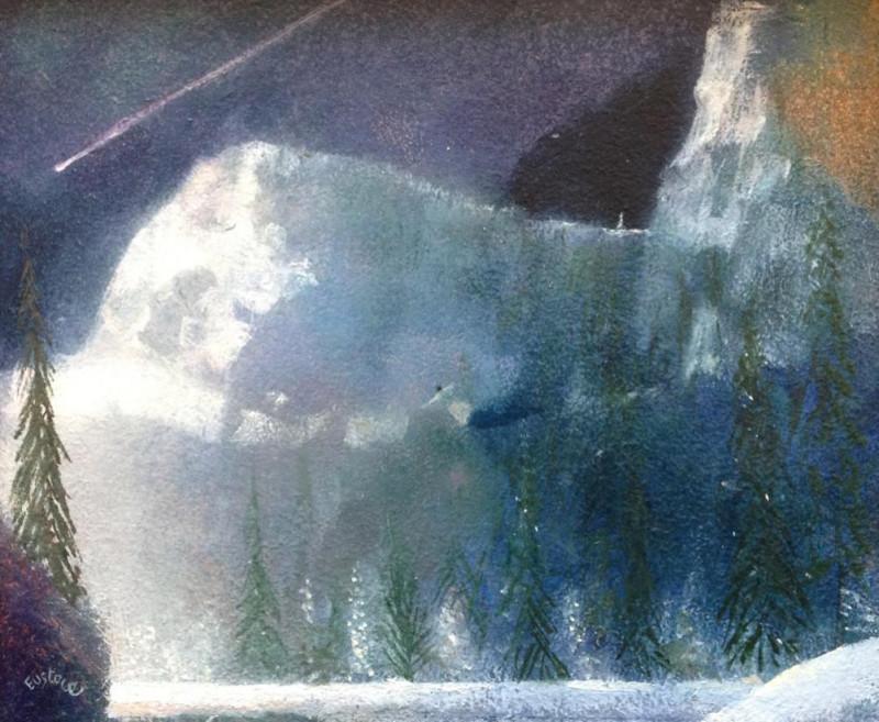 David Eustace RBA, Shooting star Yosemite