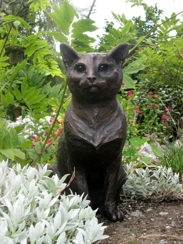 Suzie Marsh ARBS, Poppy C - sitting Cat