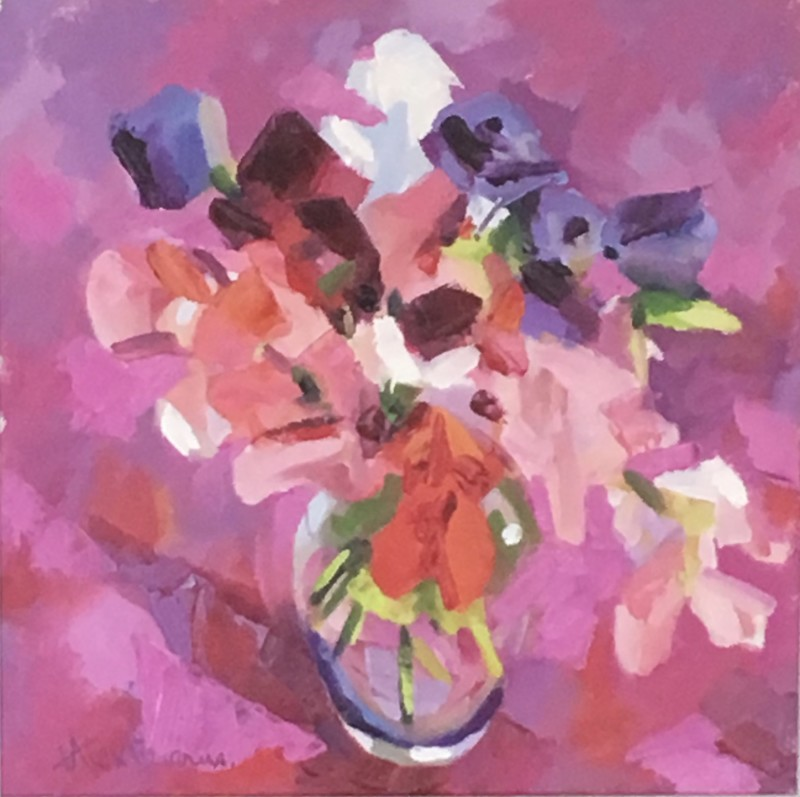 Alex Brown, Bouquet of flowers