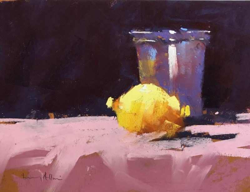 Tony Allain PS, PSA, MPANZ, Lemon & beaker
