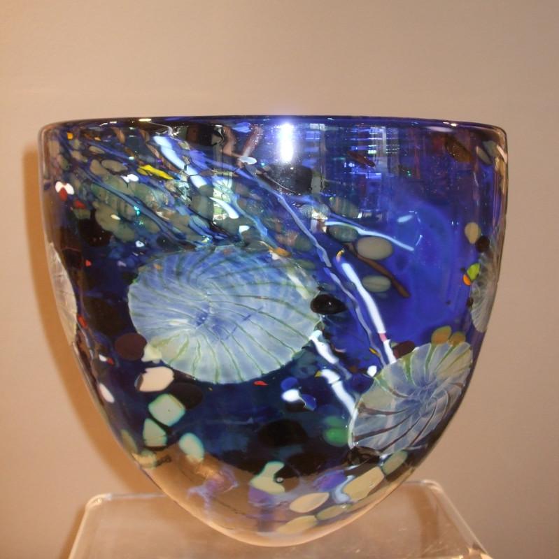 Will Shakspeare, 268 Flotsam XX large bowl blue
