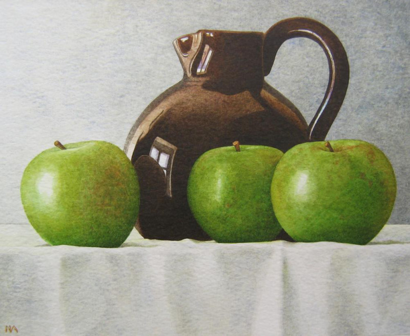 Nigel Ashcroft, Green apples