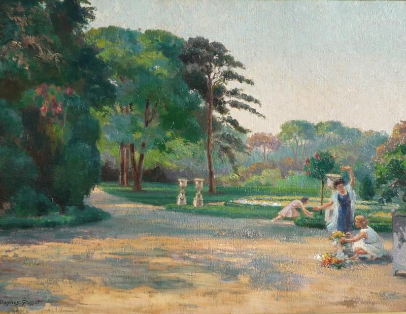 Suzanne Daynes Grassot, Tuileries Gardens