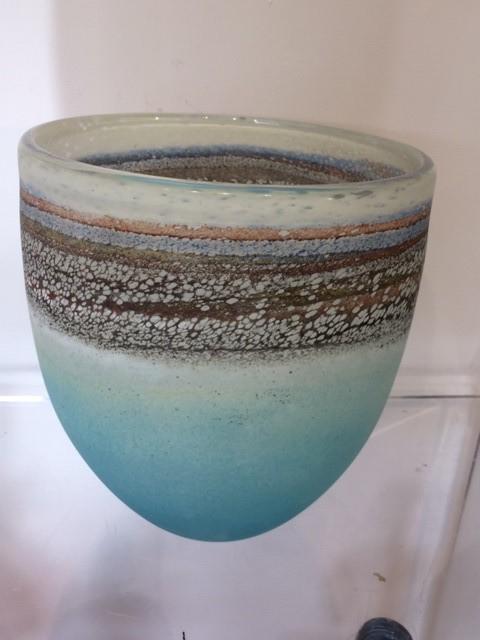 Will Shakspeare, 289 Coast large bowl - Aqua/Sand