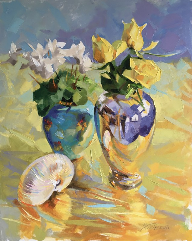 Alex Brown, Still Life, Nautilus Shell