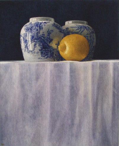 Nigel Ashcroft, Ginger jars (unframed)