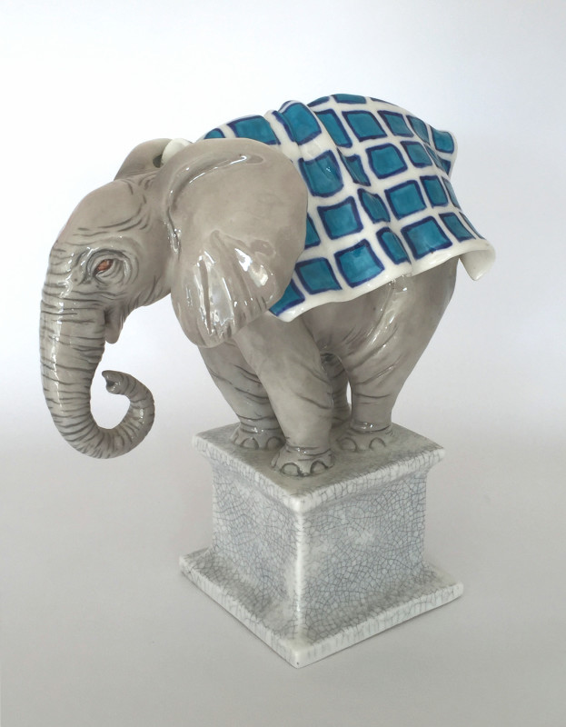 Marion Stewart, Orphaned Elephant
