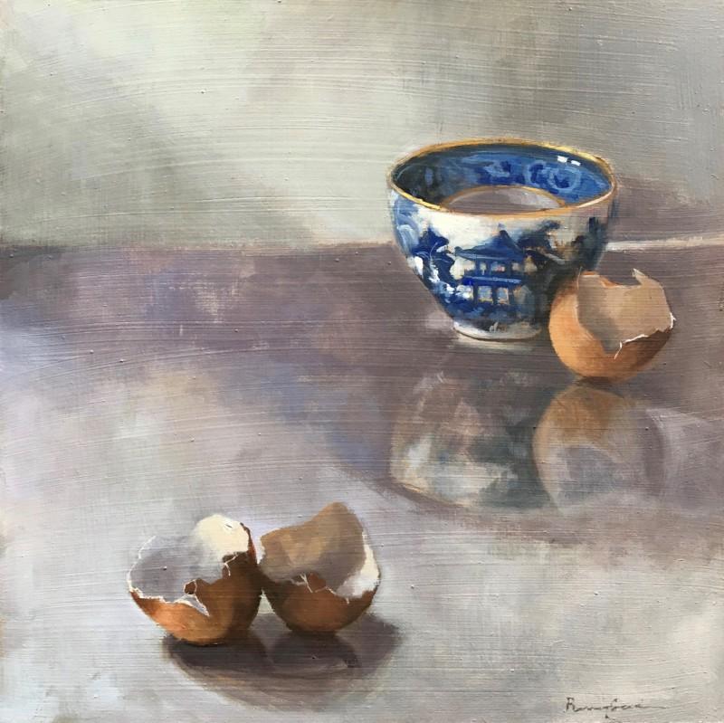 Penny German ARBSA, Teabowl and Eggshells