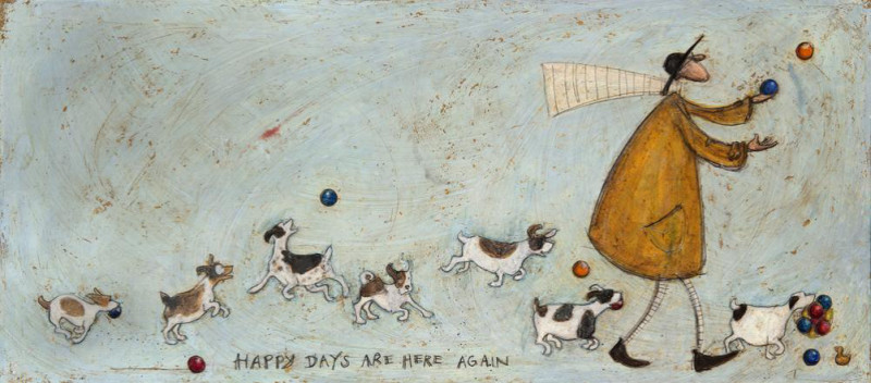 Sam Toft, Happy days are here again