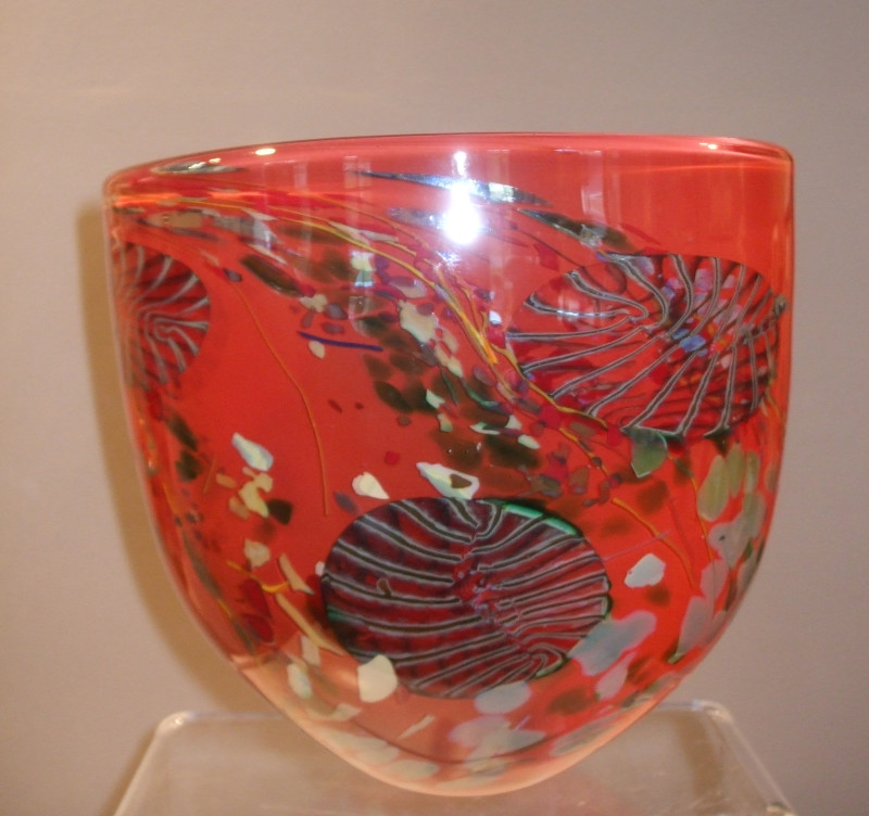 Will Shakspeare, 269 Flotsam XX large bowl red