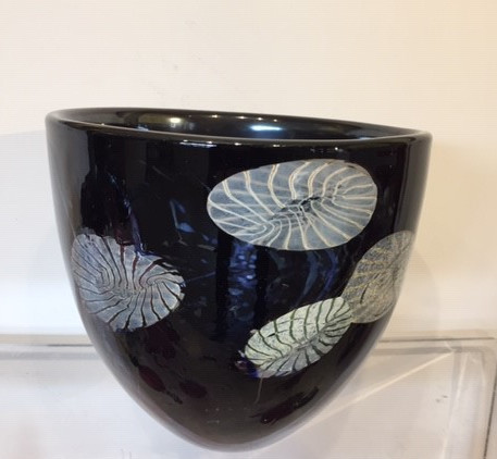 Will Shakspeare, 299 Flotsam large bowl - dark aubergine