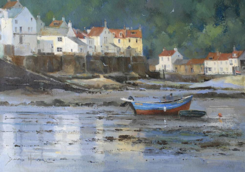David Howell PPRSMA, Low water at Staithes