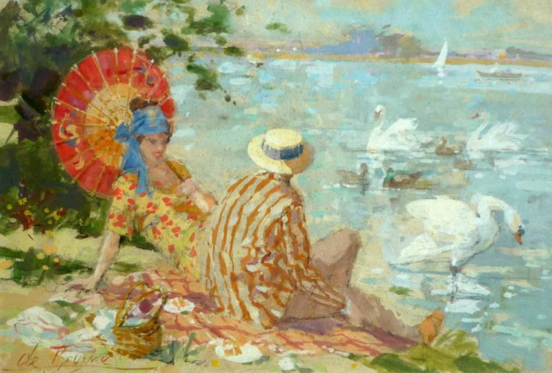 Dexter Brown, Beside the Lake