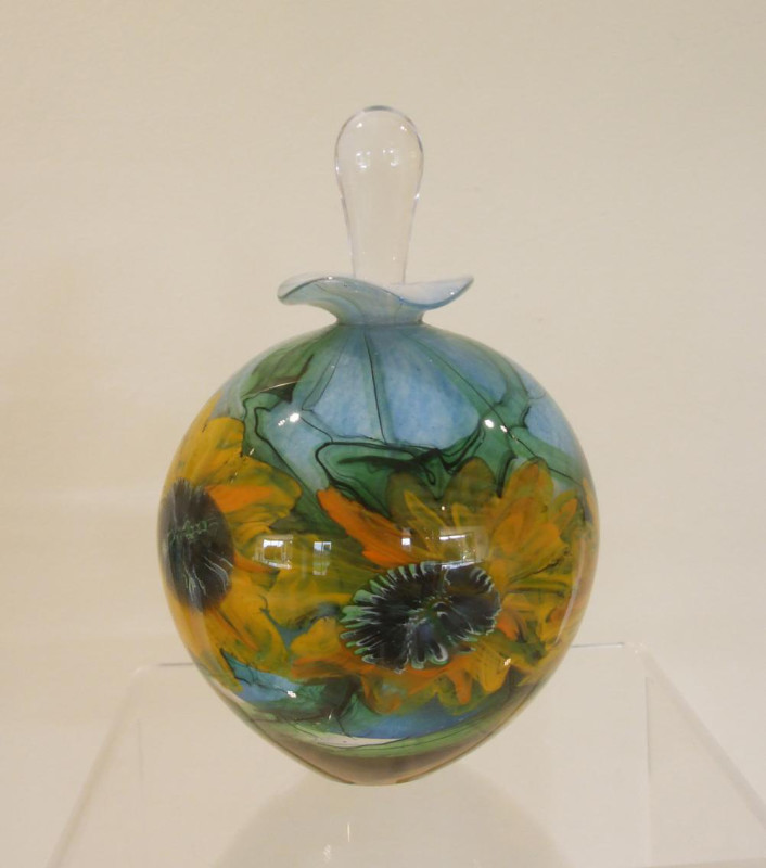 Peter Layton, Sunflower - perfume bottle I