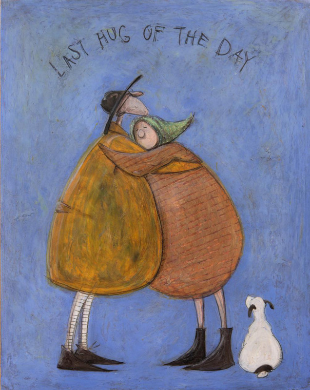 Sam Toft, Last hug of the day SOLD