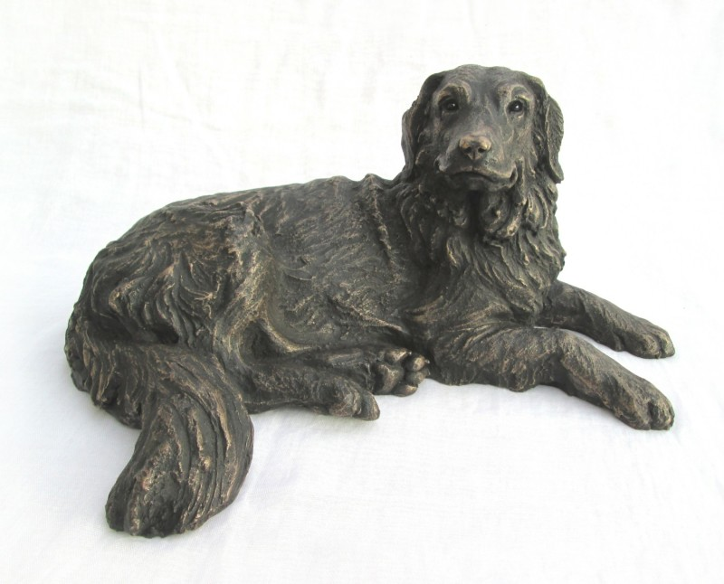 Suzie Marsh ARBS, Harriet - lying Golden Retriever 14/75