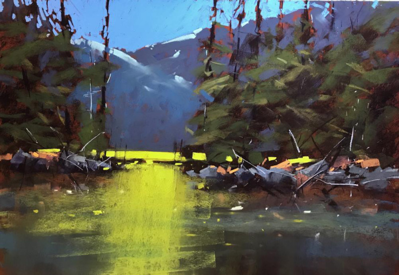 Tony Allain PS, PSA, MPANZ, Long Pole Pines, Oregon