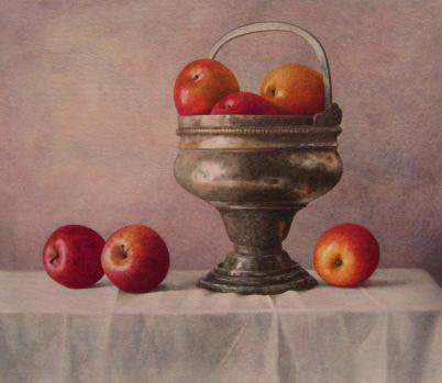 Nigel Ashcroft, Still Life with Antique Urn (unframed)