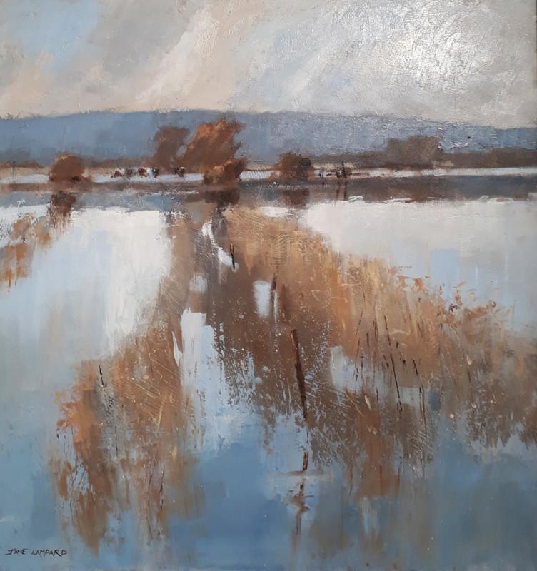 Jane Lampard, Flooded meadows, Wedmore