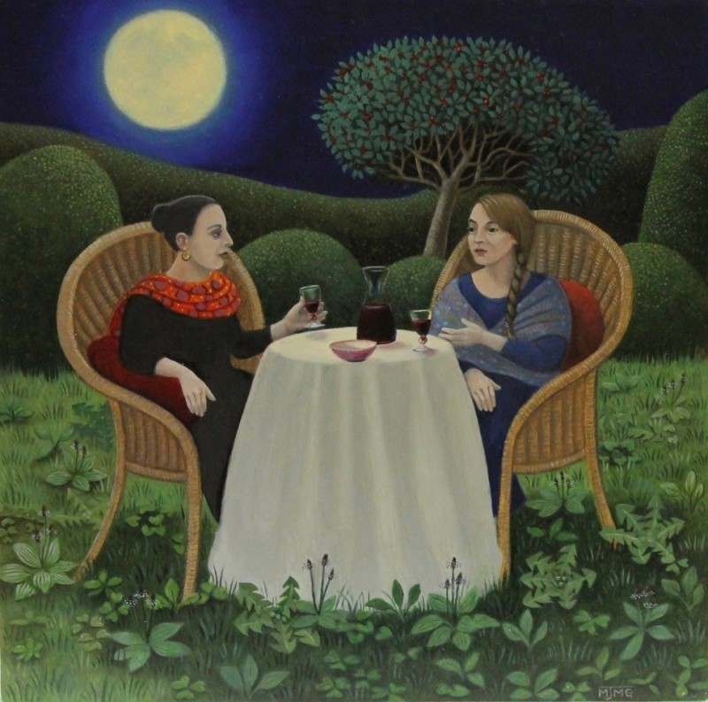 Marcelle Milo Gray, Moonlit friends