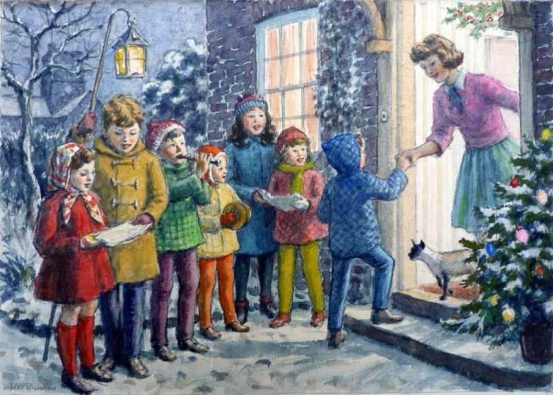 Hubert John Williams, Carol Singers