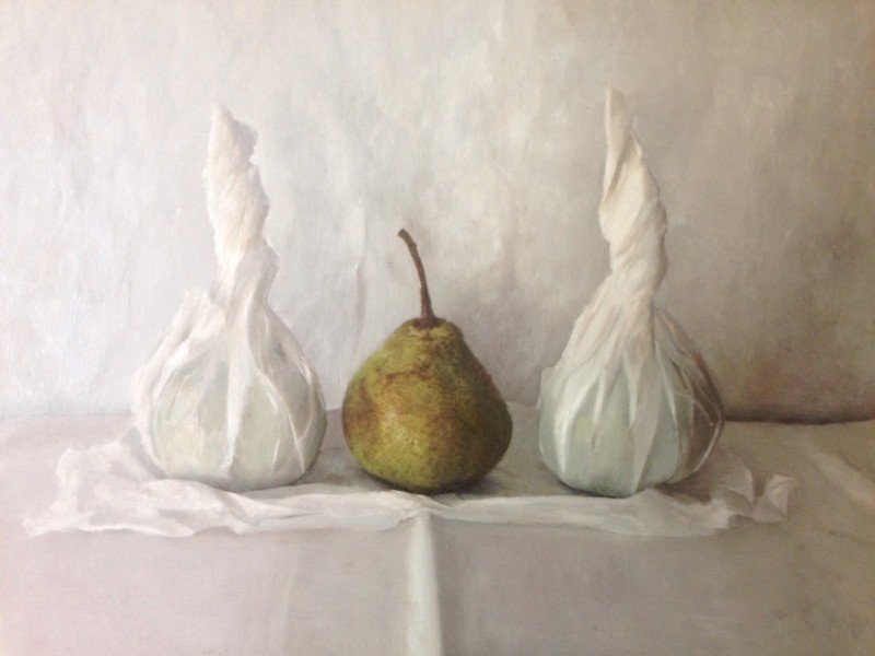 Kate Verrion, Three Pears