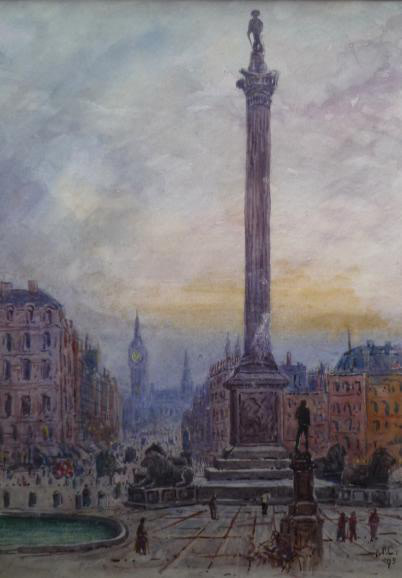 A P Collis, Nelsons Column