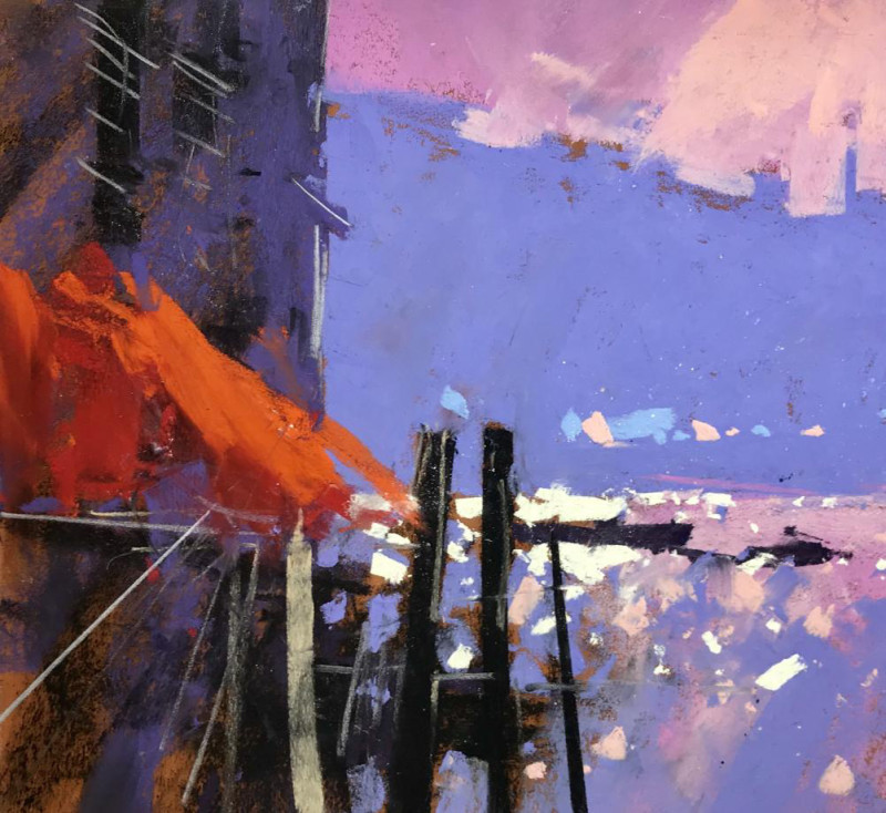 Tony Allain PS, PSA, MPANZ, Red shade, Venice