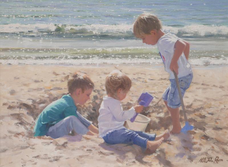 Nicholas St John Rosse RSMA, A busy trio