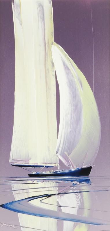 Duncan MacGregor, Calm reflections in mauve
