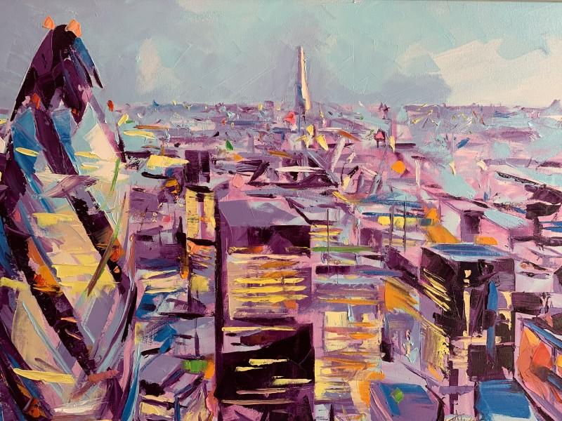 Alex Brown, London Gherkin, dream machine