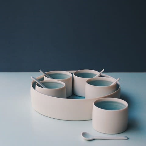 Kathryn Sherriff, Porcelain serving set